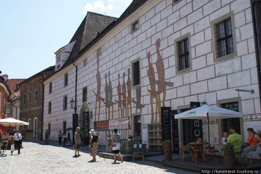 Здание искусствоведческого центра Эгона Шиле
