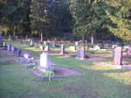 Кладбище тоже обихожено