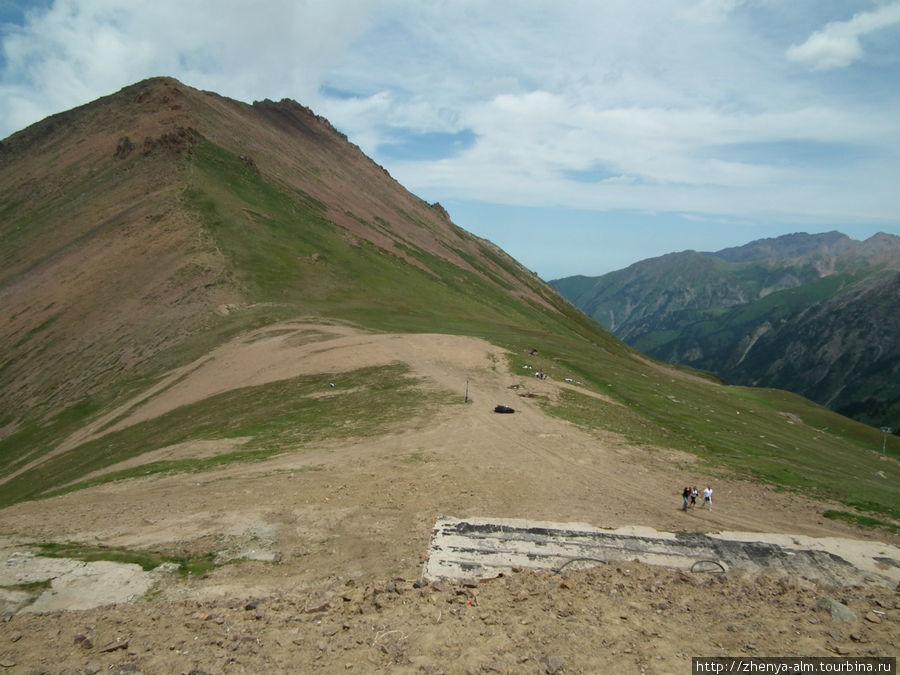 сам Талгарский перевал