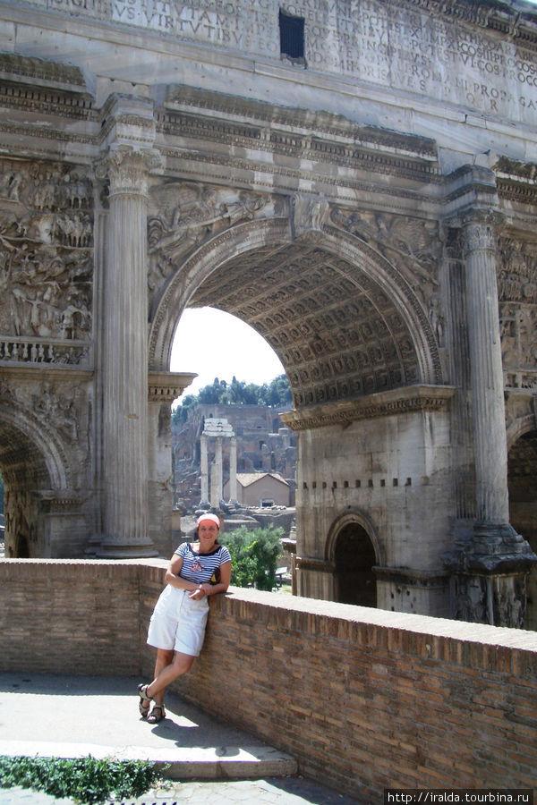 Триумфальная арка Септелия Севера