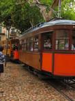 Трамвайки в городе очень симпатичные.