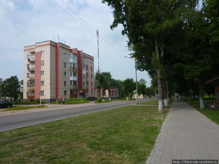 Улица Красноармейская.