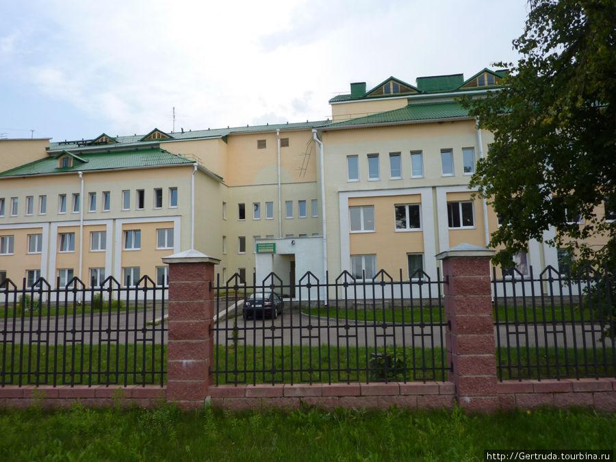 Новые корпуса районной больницы.
