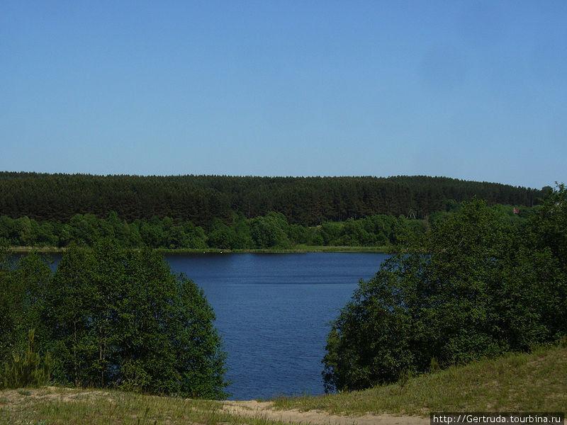 Вид на озеро Луговое.