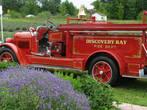 Местные пожарные машины.