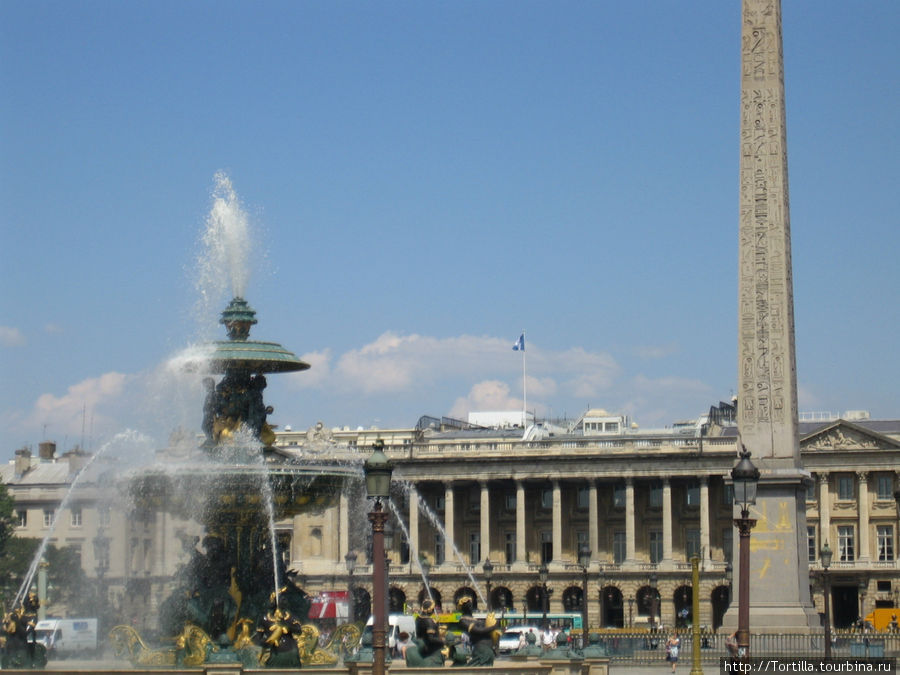 Париж. Площадь Конкорд