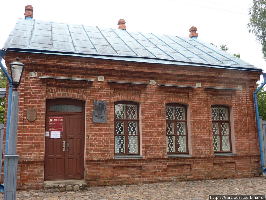 Общий вид дома-музея Марка Шагала.