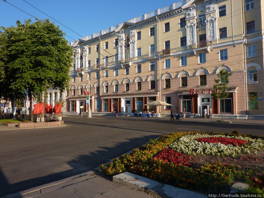Дома на улице Кирова.