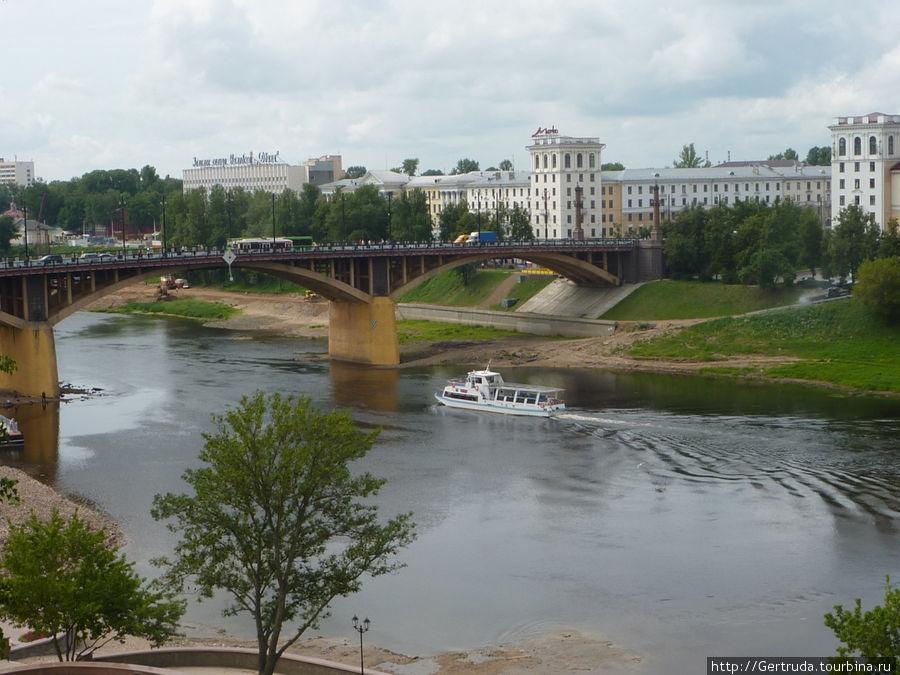 Мост имени Кирова  через западную Двину