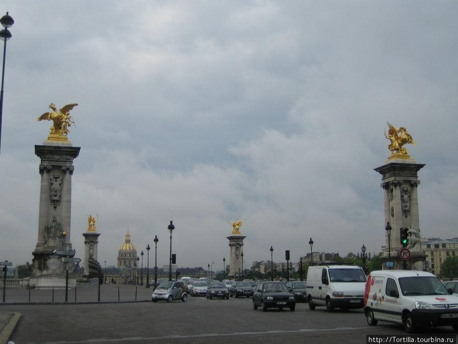 Париж. Мост Александра