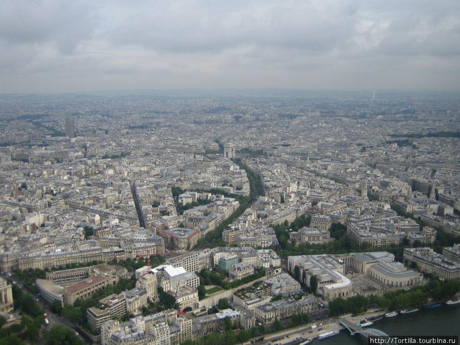 Вид на Париж с третьего я