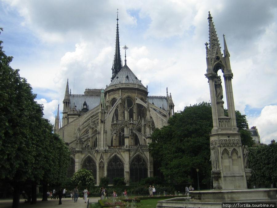 Париж. Нотр Дам Де Пари