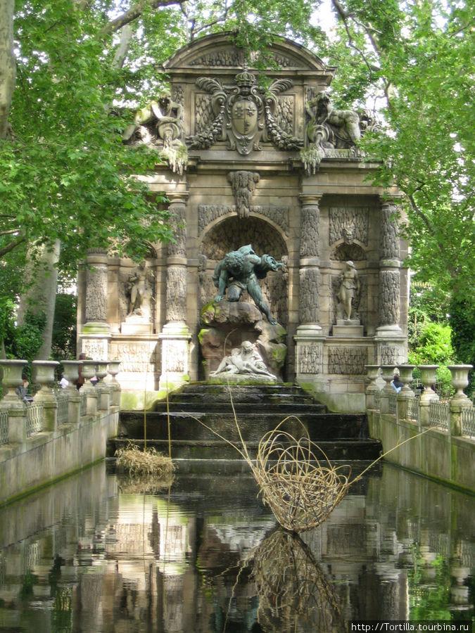 Париж. В Люксембургском саду