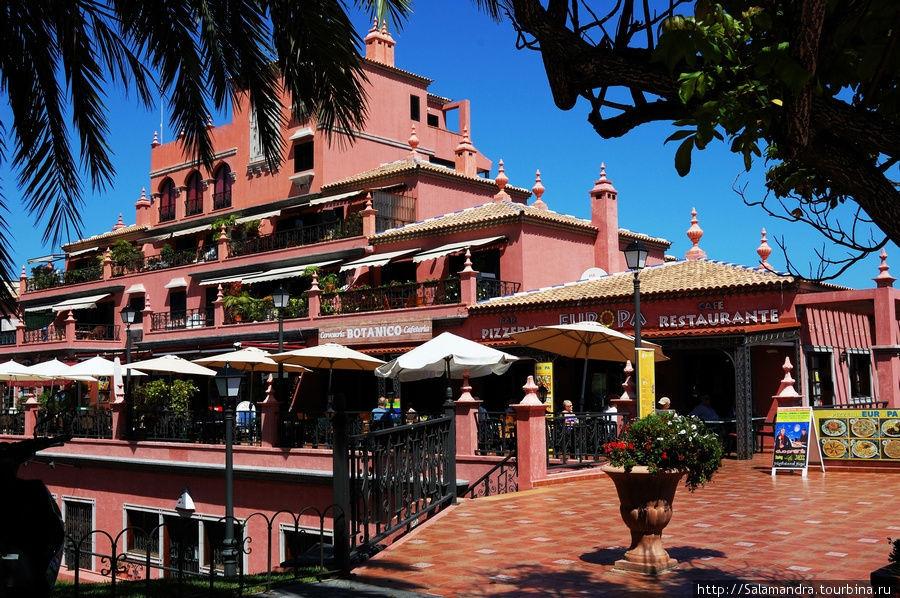 Тенерифе.Пуэрта де ла Круз Пуэрто-де-ла-Крус, остров Тенерифе, Испания