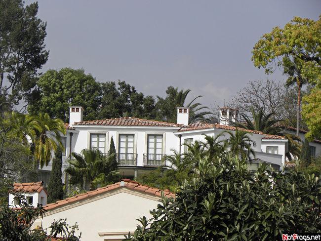 Кусок дома Дэвида и Виктории Бэкхем