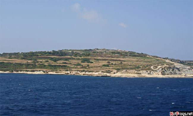 Незастроенная часть острова Мальта