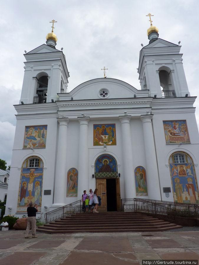 Вход в Свято-Покровский собор