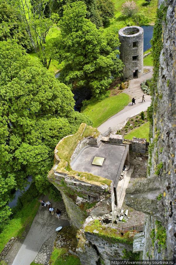 Виды сверху замка