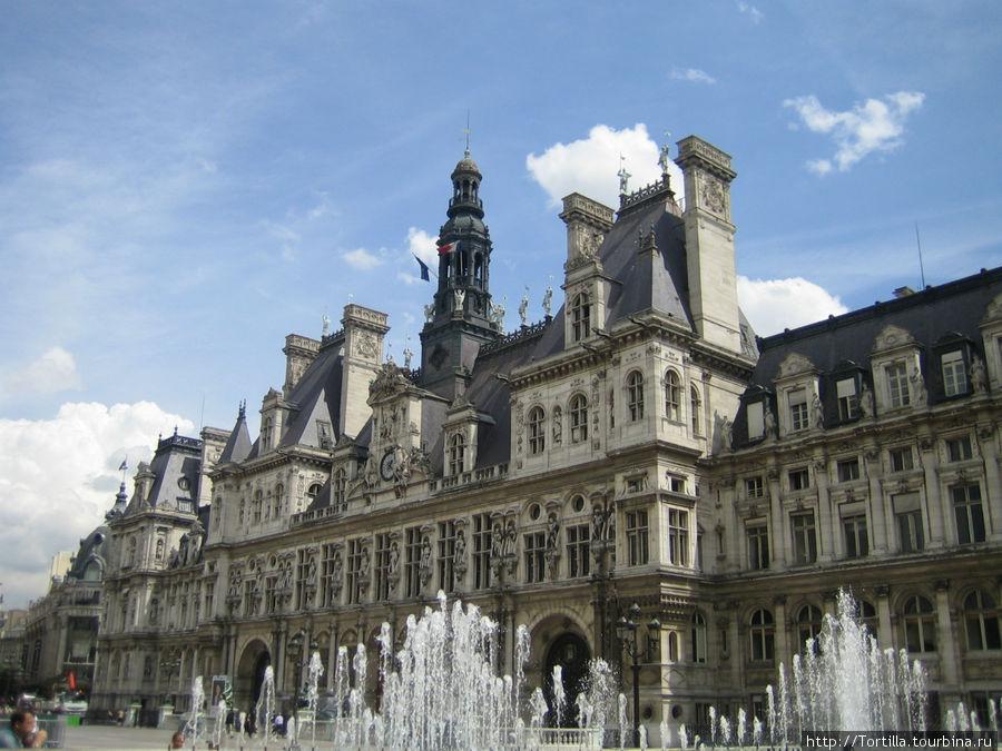 Городская Ратуша Парижа