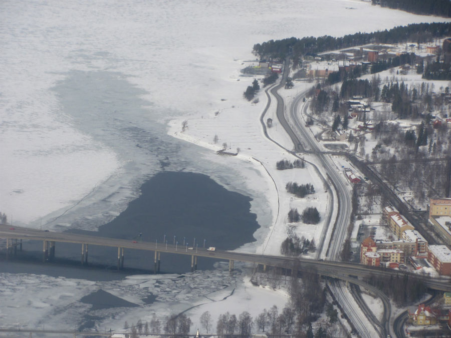 мост через озеро Стуршён