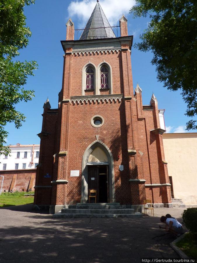 Здание Лютеранской кирхи( бывшей)