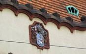 видимо, старый герб города, встречался неоднократно
