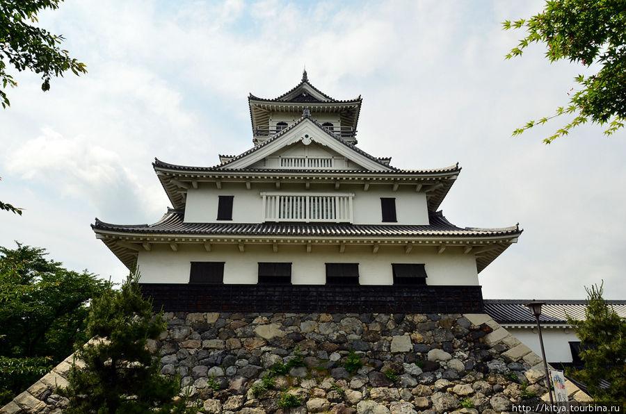 Замок Нагахама Нагахама, Япония