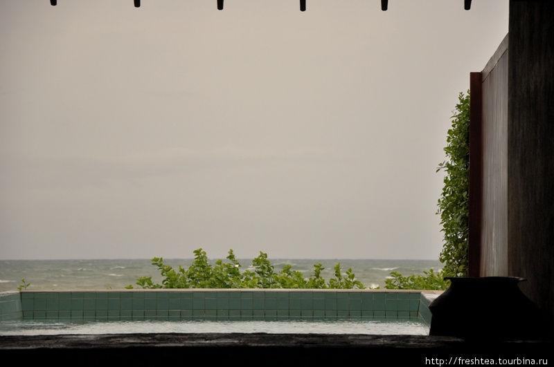 СПА-центр отеля выходит прямо к океану.