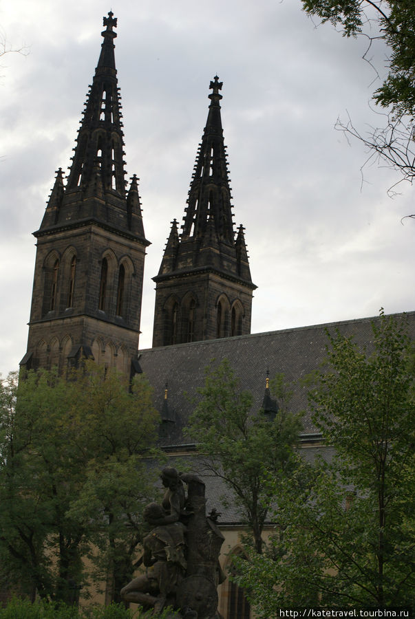 Готический собор Святых Петра и Павла