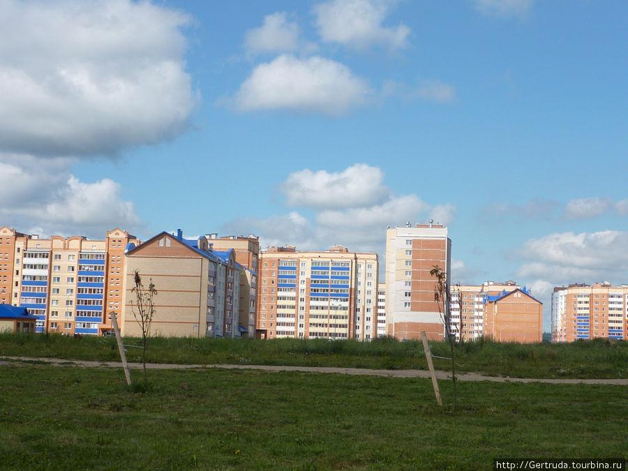 Новый микрорайон Полоцка — в радостной расцветке