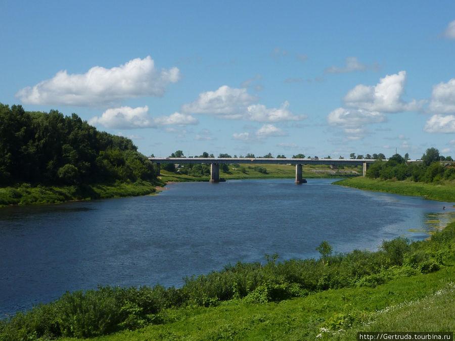 Новый мост Через Западную Двину.