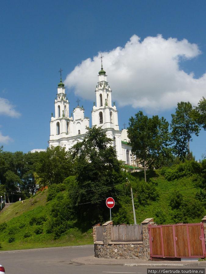 Софийский собор — вид издалека.