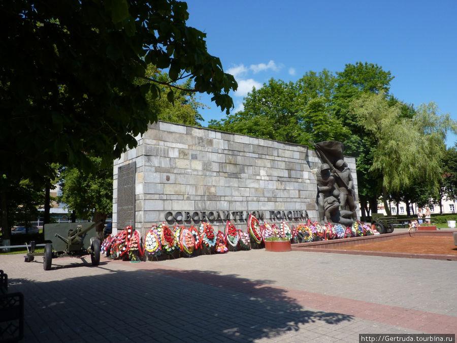 Мемориал Освободителям Полоцка.