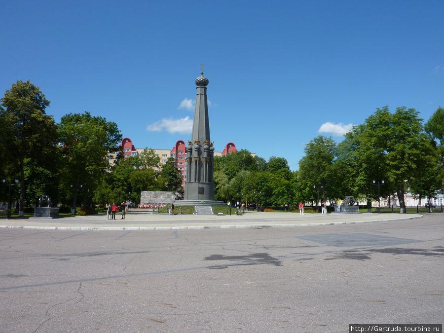 Общий вид Площади свободы