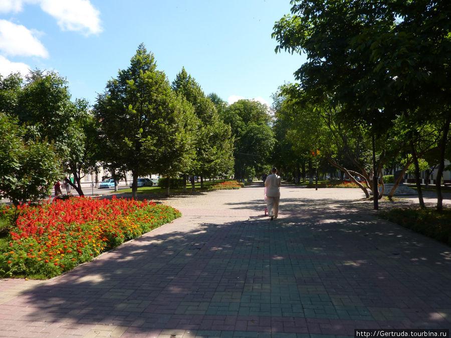 Бульвар на Проспекте Франциска Скорины