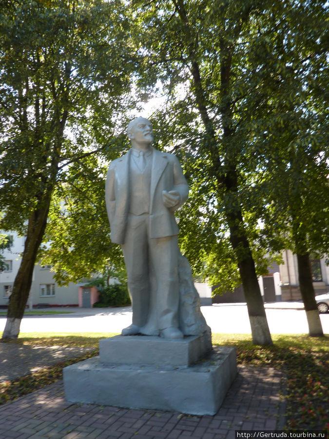 В.И. Ленин на бульваре Проспекте Ф.Скорины