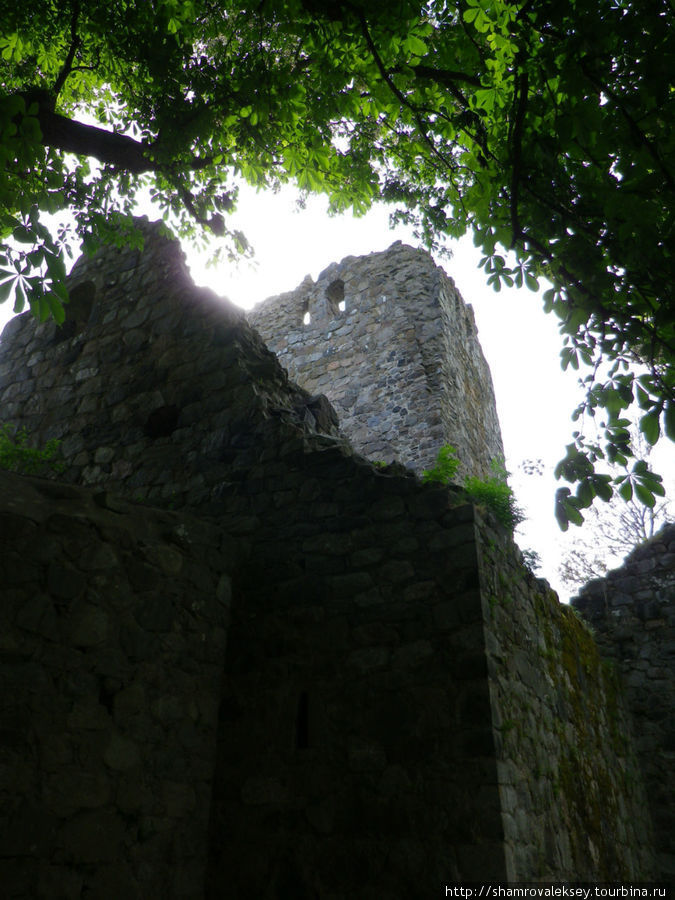 Руины церкви св. Олафа (St Olof)