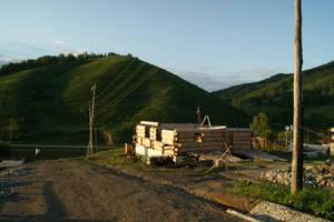 Строится, растет деревня Басаргино