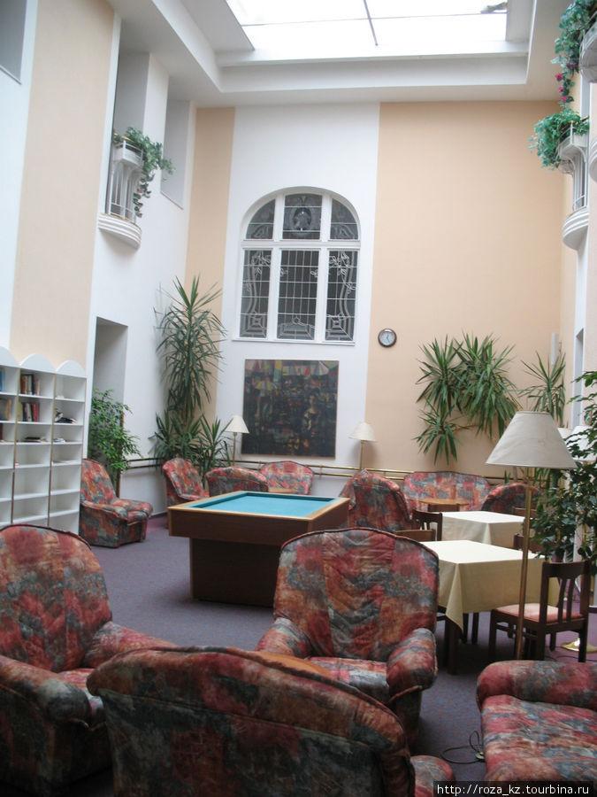 место отдыха на этаже