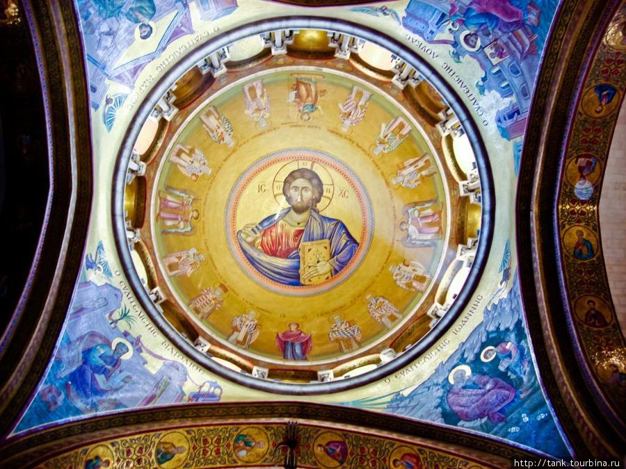 Христианский предел в Храме Гроба Господня