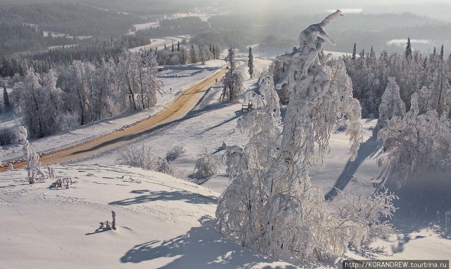 Белая гора. Минус 45 Белая Гора, Россия