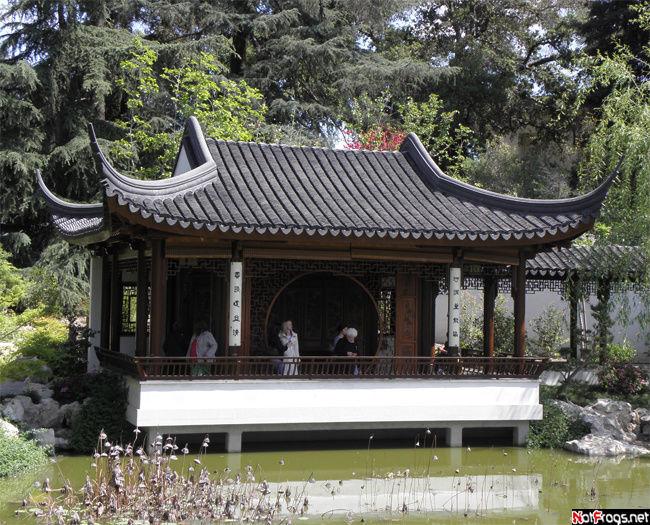 Беседка в китайских садах