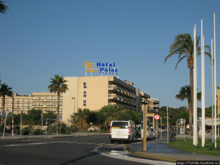 Отель Palas Pineda, Ла Пинеда. Коста Дарада