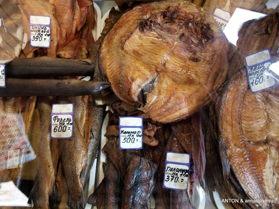Самая вкусная рыбка. :)