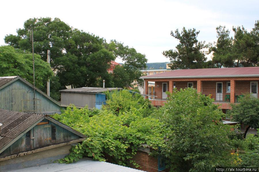 Вид с балкона Приморской ул., д. 6. Хочу туда снова! Дивноморское, Россия