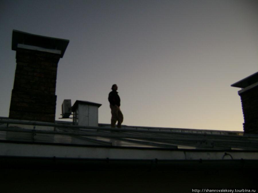 Прогулка по крышам Старого города