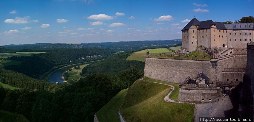 Замок Кенигштайн
