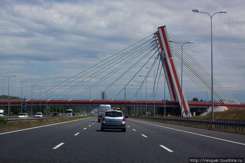 Мосты на автотрассе Дрезд