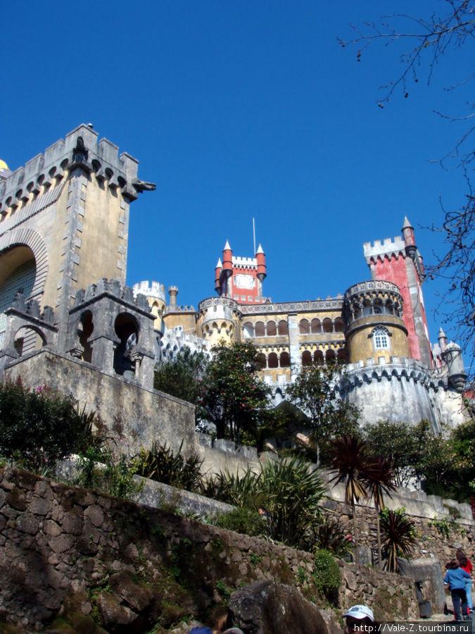 Замок Пена, рожденный фантазией португальского принца