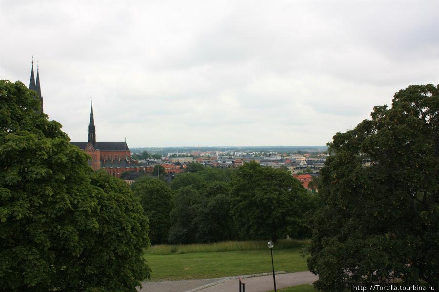 Вид на Кафедральный собор от Королевского замка.